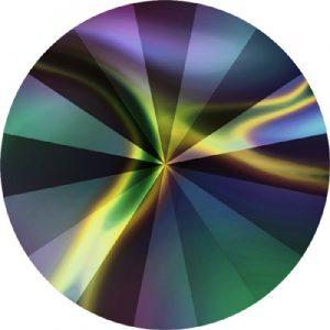 Swarovski Crystal Rainbow Dark Effect