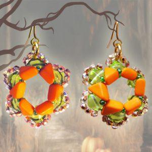 Halloween Pumpkin Spice Earrings
