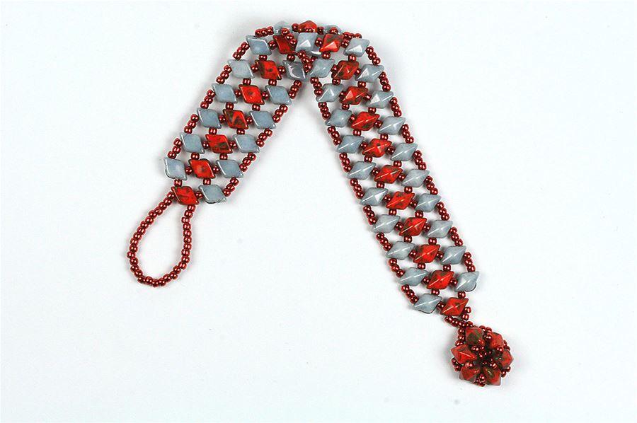 Diamonduo Lattice Bracelet - Creative Beadcraft
