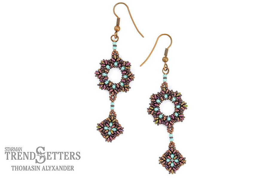 Masquerade Earrings by Starman TrendSetter Thomasin Alyxander