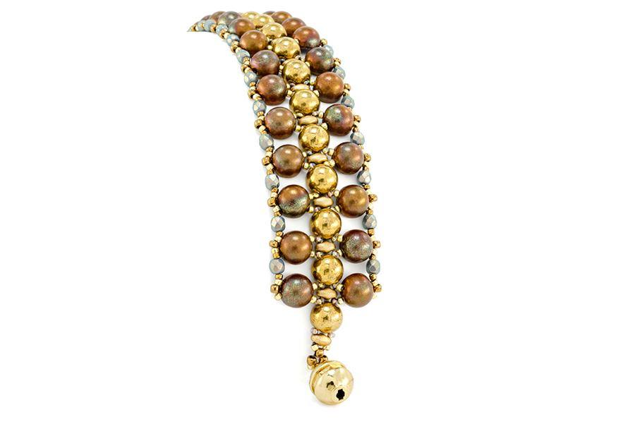 Bijou Cabochon Bracelet by Kim Leahy