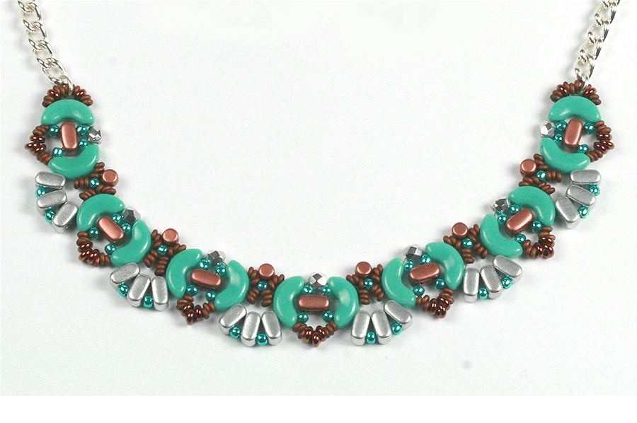 Arcos and Minos Necklace - Creative Beadcraft