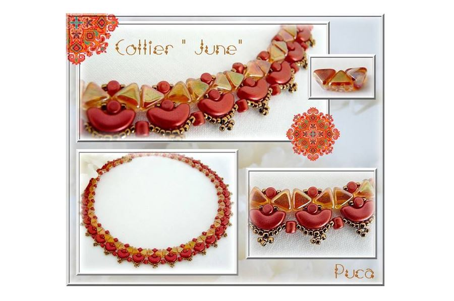 June Necklace by Puca