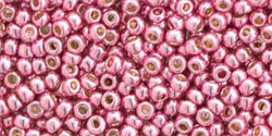 Toho Seed Beads - Permanent Finish Galvanized Pink Lilac