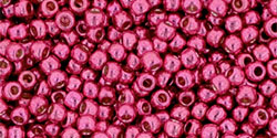Toho Seed Beads - Permanent Finish Galvanized Orchid