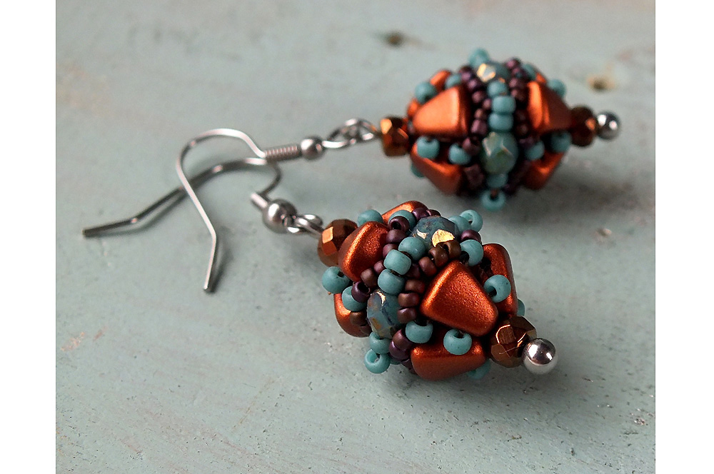 Matubo Nib-bits Volterra Earrings
