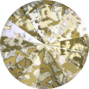 Rivoli - gold patina