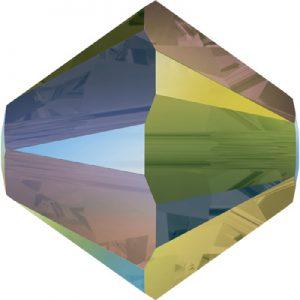 Crystal iridescent green 2x