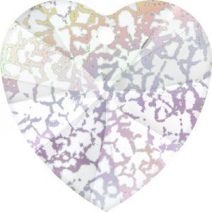 Heart - white patina