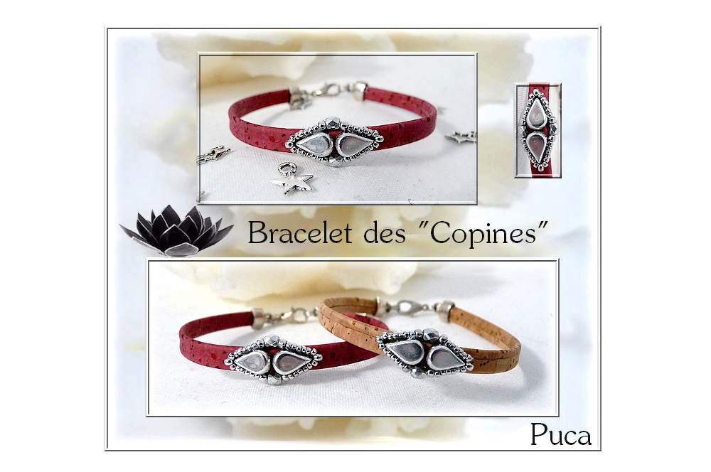 Copines Bracelet with Amos par Puca beads