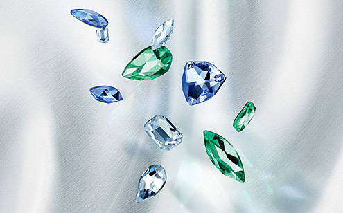 Swarovski Innovations - New Flatback Jewel Cut Collection