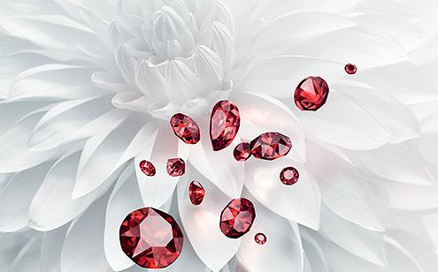 Swarovski Innovations - New Scarlet Colour