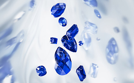 Majestic Blue - Swarovski Innovations Spring/Summer 2019