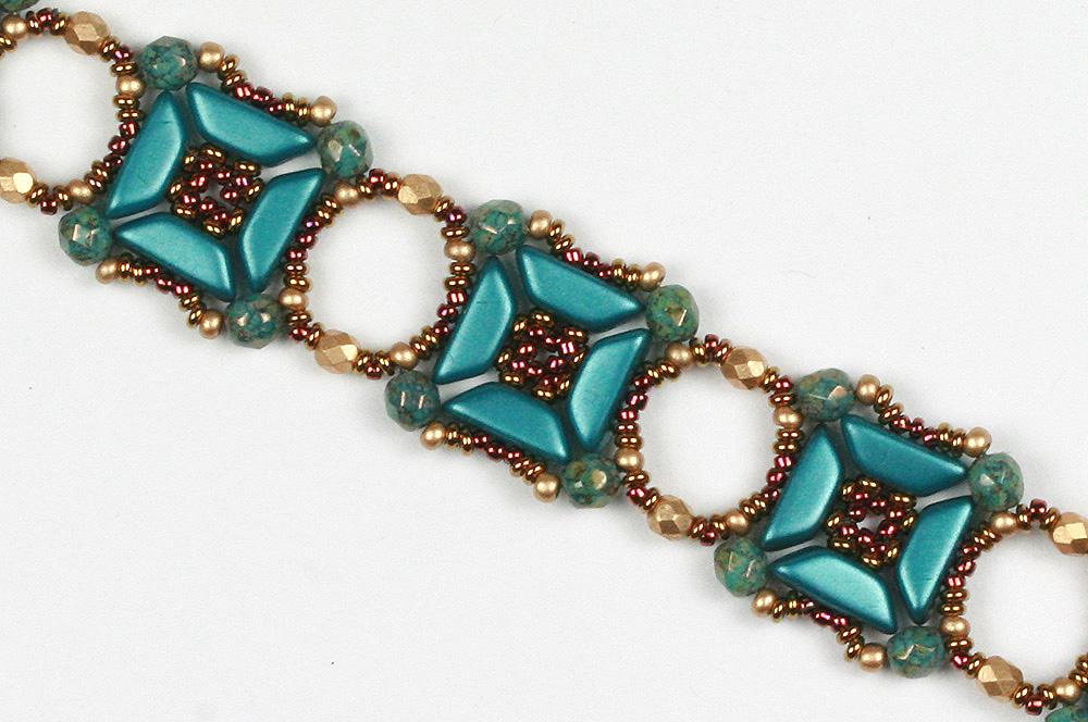 Tinos par Puca and fire-polished bracelet