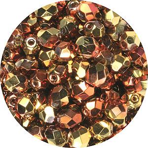 Czech fire-polished beads