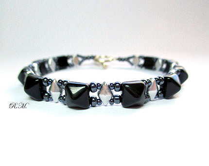 DiamonDuo and Stud Bracelet