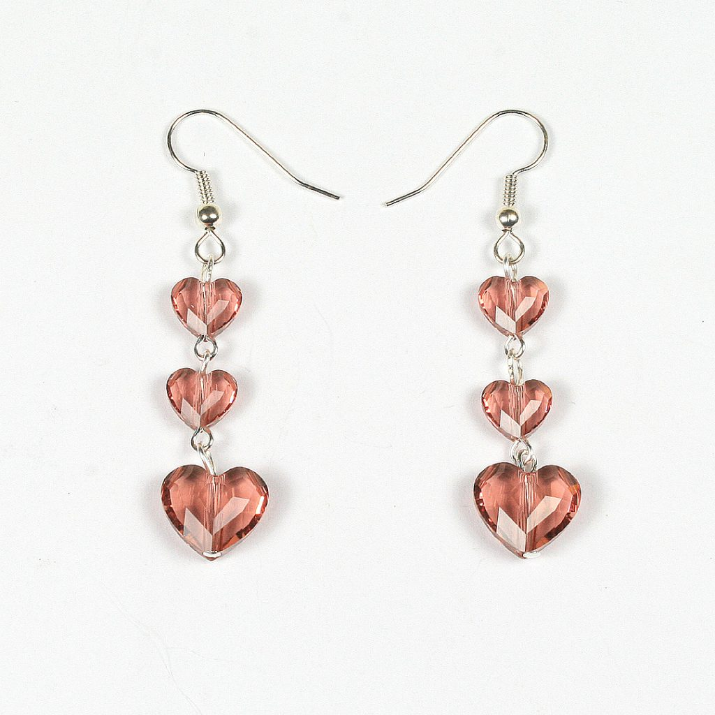 Swarovski Love Bead Earrings