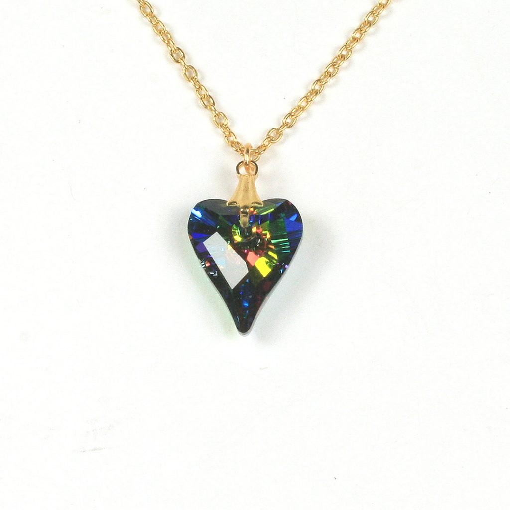 Swarovski Heart Pendants