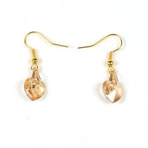Swarovski-xilion-heart-pendant-gold-shadow-earrings-495