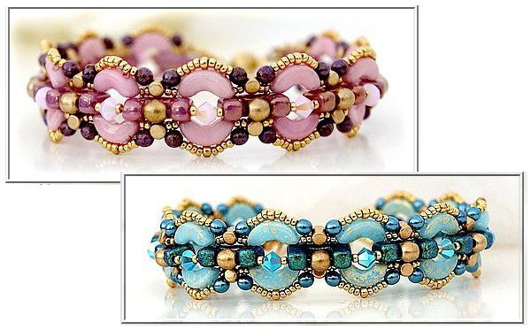 Taylor Bracelet with Telos par Puca beads