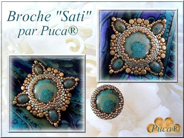 with Samos par Puca beads