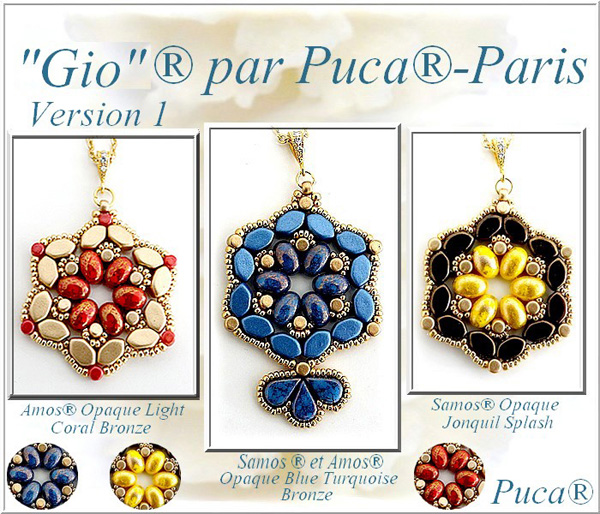 Gio Jewellery with Paros par Puca beads
