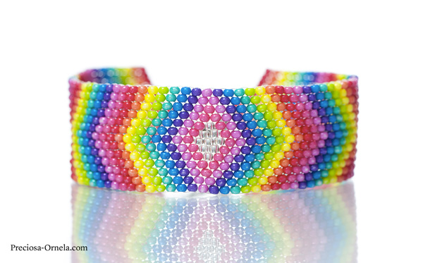 Preciosa Terra Intensive Rainbow Bracelet