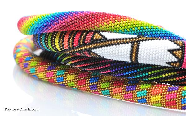 Preciosa Terra Intensive Geometric Bracelets